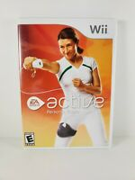 EA Sports Active Personal Trainer Nintendo Wii Complete Manual Tested and Works