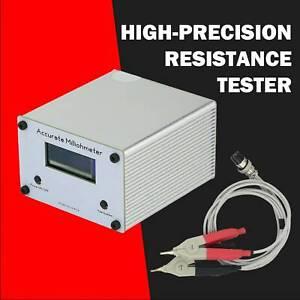 High-Precision Resistance Tester Milliohm Meter Accurate Milliohmmeter USB OLED