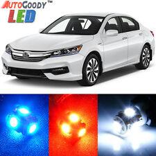 14 x Premium Xenon White LED Lights Interior Package Kit for Honda Accord + Tool
