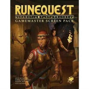 RUNEQUEST GAMEMASTER SCREEN PACK New
