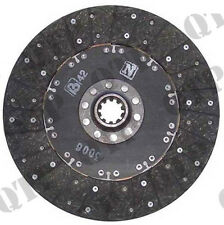 """4106 Ford New Holland Clutch Disc Fordson Super Major 12"""" Main - PACK OF 1"""