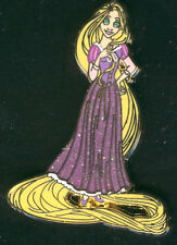 Princess Rapunzel Glitter Dress Tangled Disney Pin 93357