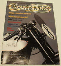 Classic Bike 4/86 Matchless G3, BSA G14, cammy Norton, Gregory Jawa, Indian Velo