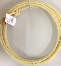 Kid Rodeo Lasso Lariat Rope With Burner 20ft White Supreme Western Made in USA