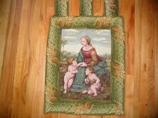 Tapestry Wallhanging - MADONNA + Child &Little St. John