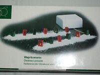 Dept 56 Retired Christmas Luminaries Village Accessories 52715 NIB Lights Bags