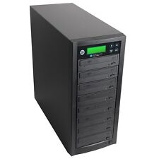 1 to 7 Multiple DVD/CD Discs Copy Burners Duplicator with Asus 24x Writers Drive