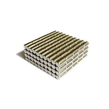 "200pcs 7/32"" x 15/32"" Cylinder 6x12mm Neodymium Magnets Craft Permanent N35"