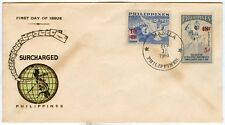 Philippine 1960 Surcharged FDC