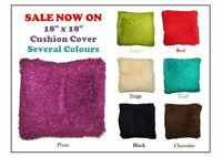 """18"""" x 18"""" New Luxury Poodle Cushion Covers Stylish and Fluffy Cushion Covers"""