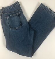 GAP Jeans Womens Original Long And Lean Size 8 A  Distressed Boot Cut Mid Rise