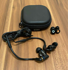 Sony MDR-EX800ST In-Ear Headphones Black including case no box