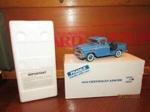 MIB~Danbury Mint~1958 CHEVROLET APACHE~Pickup Truck~No Paperwork
