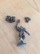 Pro Painted Warhammer 40k Space Marine Chaplin Converted And Magnetised