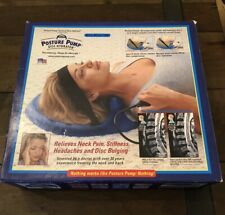 Posture Pump Disc Hydrator Neck Model 1000 Cervical Spine Therapy Pain Relief
