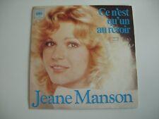 JEANE MANSON CE N'EST QU'UN AU REVOIR / CHANTE MA GUITARE FRENCH 45 SINGLE