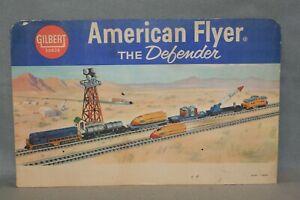 AMERICAN FLYER  #20625  DEFENDER SET SIGN