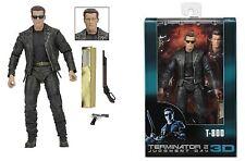 "Neca Terminator 2-T800 (Galleria) 7"" acción figura 25TH aniversario"