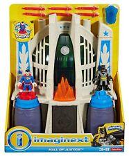 New IMAGINEXT DC BATMAN EXCLUSIVE HALL of JUSTICE LEAGUE Superman Wonder Woman