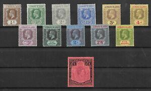 Leeward Islands, KGV To 5/- Mint And KGV1 £1 MNH, SG#114, A Nice Group!(K43)