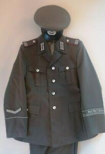 DDR NVA MfS Wachregiment Uniform m44 Schirmmütze