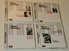 LOT 8 CD THE PIANO MASTERS solomon CURZON kempff SERKIN dame myra hess HASKIL
