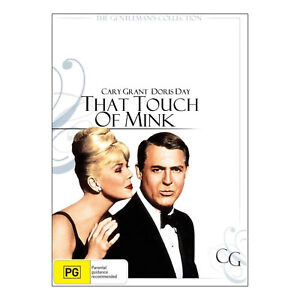 That Touch of Mink DVD Brand New Sealed - Cary Grant, Doris Day - Free Post