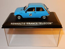 IXO ALTAYA 1972 RENAULT 5 R5 COMMERCIALE FRANCE TELECOM PTT 1/43 IN BOX N°53