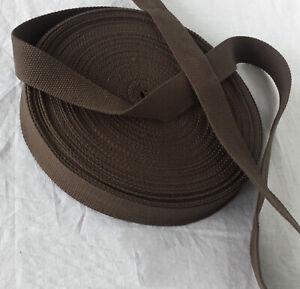 100%cotton Webbing tape 38mm CANVAS upholstery DIY  Bag Belt
