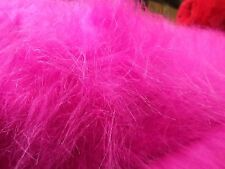 1YD hot pink faux fake fun costune moscot monkey halloween fabric MADE IN  J4236