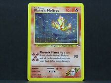 Holo Blaine's Moltres 1/132 - Gym Heroes Pokemon Card (Light Played)