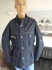 "BELSTAFF Roadmaster Quilted Jacket for Men. Size XXL, 45"" Chest. VGC. Navy Blue"