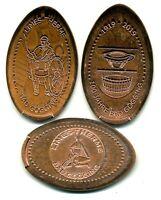 Bad Gögging ●●● 3x Elongated Coins - kompletter Satz ●●● aus 5 Cent