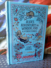 NEW SEALED Alice in Wonderland & Other Stories by Lewis Carroll Bonded Leather