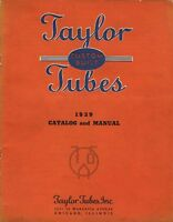 TAYLOR CUSTOM BUILT TUBES CATALOG AND MANUAL 1939.PDF