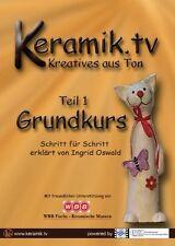 KERAMIK TV. - GRUNDKURS TEIL 1  [OVP] *AKTIONSPREIS SOLANGE DER VORRAT REICHT!*