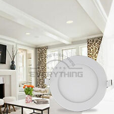 Bulb Lamp For Indoor Home 3W 10pcs Round LED Recessed Ceiling Panel Down Lights