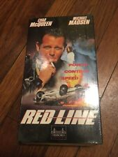 Red Line (1996) NEW VHS Chad McQueen Michael Madsen Jan-Michael Vincent Action