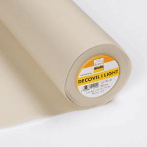 Decovil Light Fusible Iron on Interfacing Bag Making Vilene Vlieseline 90cm
