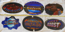 """CASINO SLOT MACHINE TOPPER PLAQUES / INSERTS """"LOT of 6"""" Excellent Used Condition"""