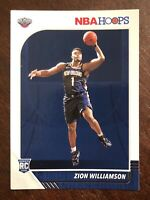 2019-20 Panini NBA Hoops #258 Zion Williamson Pelicans RC Rookie PSA Ready!📈
