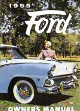 FORD 1955 Car Owner's Manual 55