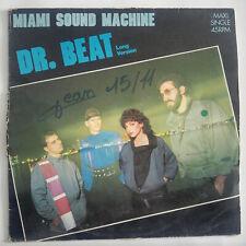 "Miami Sound Machine – Dr. Beat Label: Epic –  Vinyl, 12"", 45 RPM, Maxi-Single"