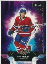 Ryan Poehling 2019-20 Upper Deck Instant Impression #II-15 RC Rookie Year Habs!