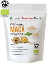 Organic Raw Maca Powder 500g (Premium 4 Root, Peruvian Superfood)
