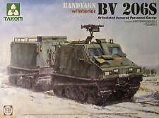 TAK2083 Takom Model Bandvagn Bv 206S Articulated APC with Interior Bausatz 1:35