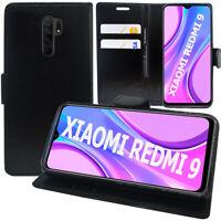 """Etui Schutzhülle Portemonnaie Leder Stoßfest Für Xiaomi Redmi 9 6.53 """" M2004J19G"""