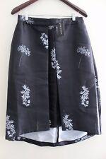 TALULAH Ladies Midi HiLo Skirt Sz L NWT Black Floral Azalea NEW WITH TAG