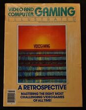 Video And Computer Gaming Illustrated Magazine 1984 Early & Rare Video Game Mag