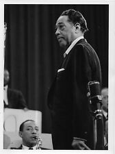Photo originale Duke Ellington Johnny Hodges Jazz concert 1959